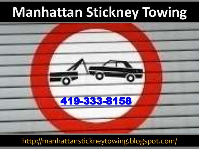 http://manhattanstickneytowing.blogspot.com/ 419-333-8158 Manhattan Stickney Towing