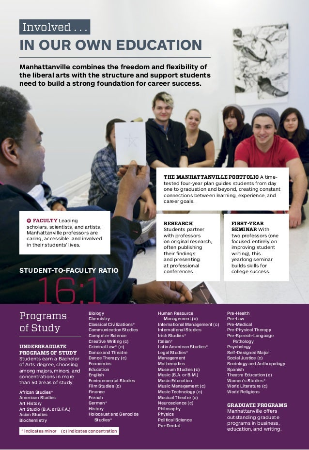 Manhattanville College Brochure