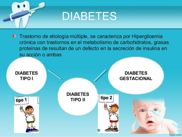 Manifestaciones orales en Enfermedades Endocrinas-Diabetes