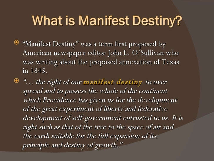 the advantages of manifest destiny Get information, facts, and pictures about manifest destiny at encyclopediacom make research projects and school reports about manifest destiny easy with credible.
