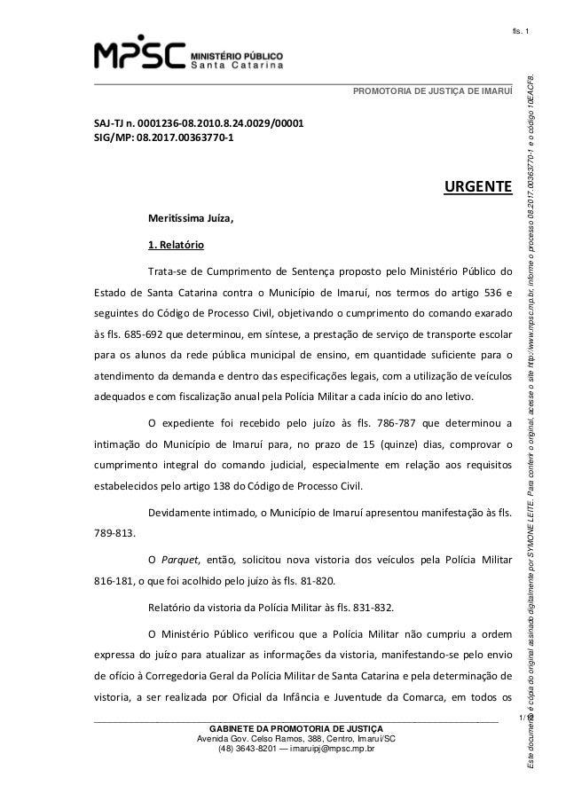 EstedocumentoécópiadooriginalassinadodigitalmenteporSYMONELEITE.Paraconferirooriginal,acesseositehttp://www.mpsc.mp.br,inf...