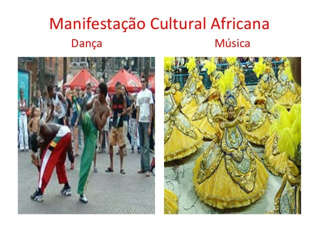 Manifestação cultural indígena, europeia e africana Slide 3