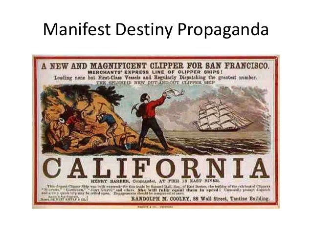 manifest destiny as the most important contributor to american expansion Free essays & term papers - american expansion, american history.