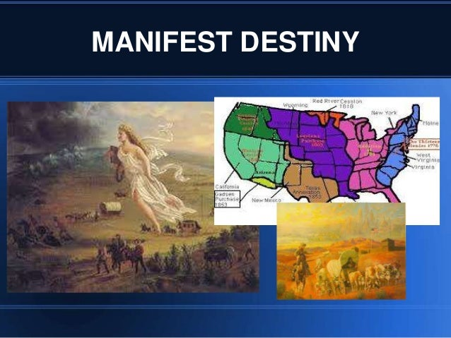 why was manifest destiny a significant Those years were also marked by significant social changes resulting from a number of factors the discovery of gold in california spurred a huge migration across the continent (or around cape horn) manifest destiny and mexico.