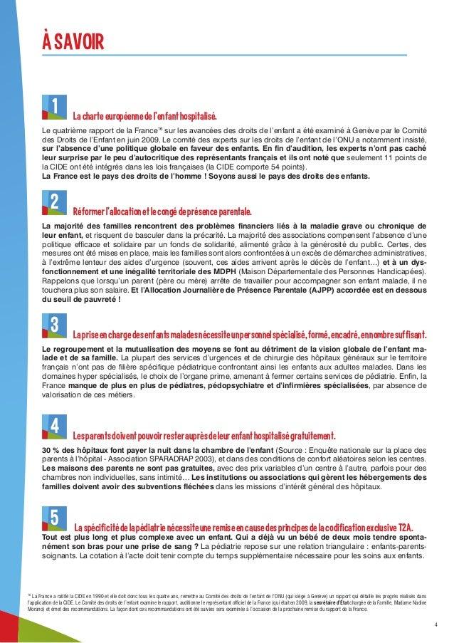 Manifeste Des Droits Des Enfants Malades