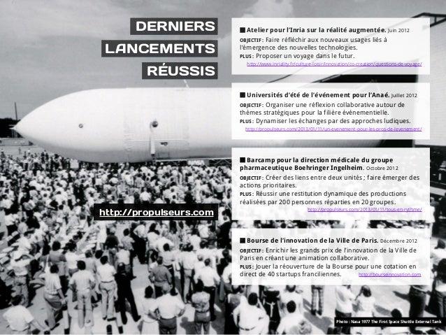 DERNIERS              Atelier pour l'Inria sur la réalité augmentée. Juin 2012                         OBJECTIF : Faire ré...