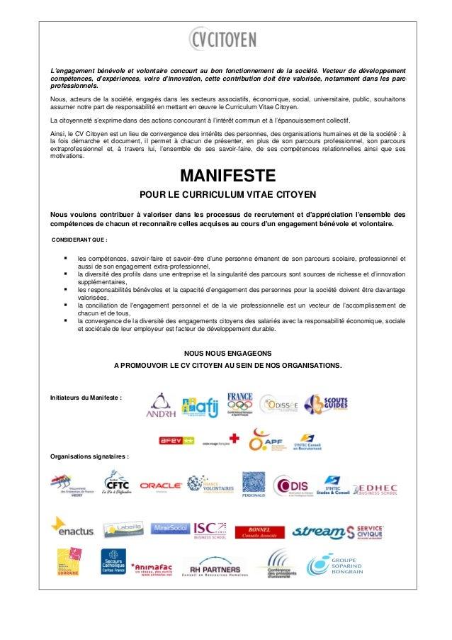 manifeste cv citoyen 2013