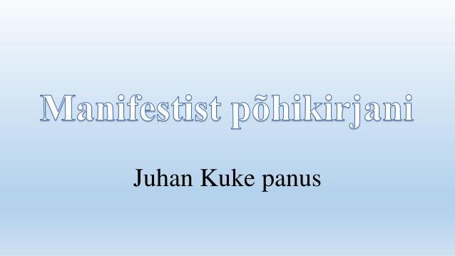 Juhan Kuke panus