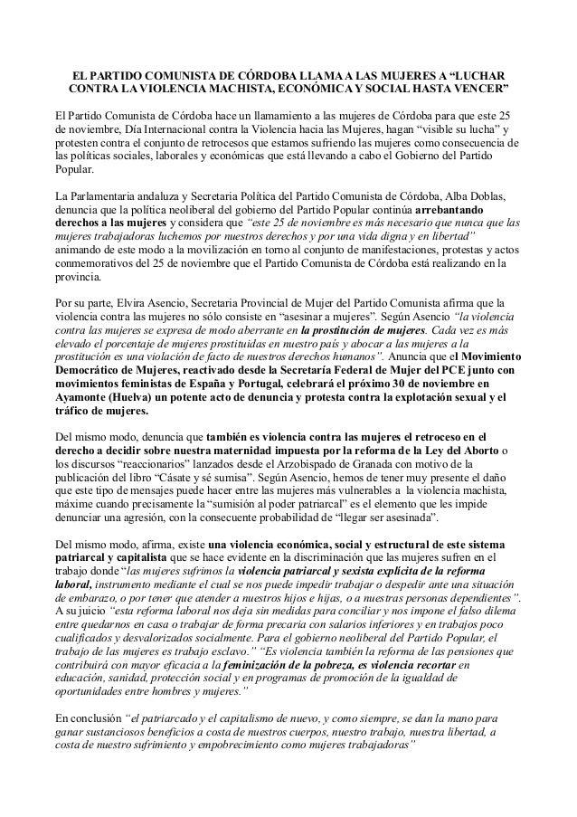 Manifiesto 25N