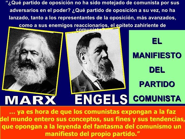 """"""" ¿Qué partido de oposición no ha sido motejado de comunista por sus adversarios en el poder? ¿Qué partido de oposición a ..."""