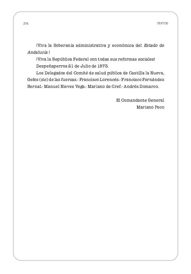 Manifiesto federales