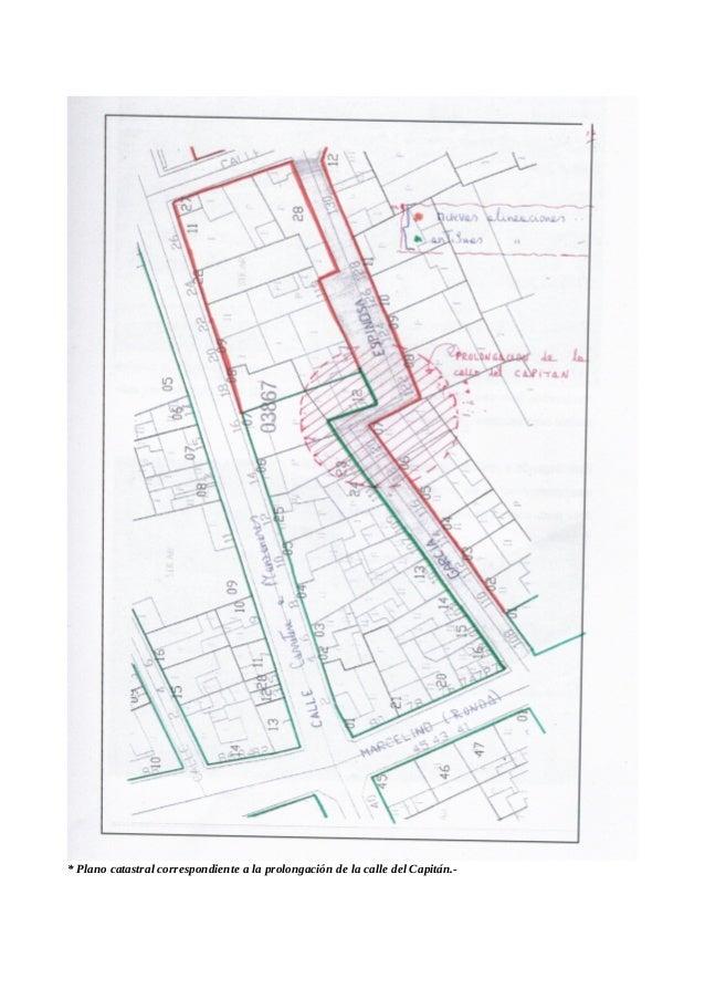 * especulación en plan salvaje sobre el solar de la antigua Posada del Rincón.