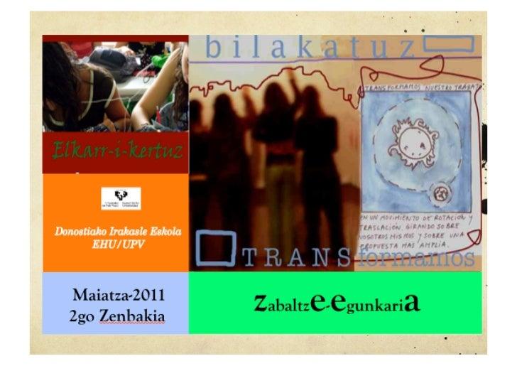 Maiatza-20112go Zenbakia               zabaltze-egunkaria