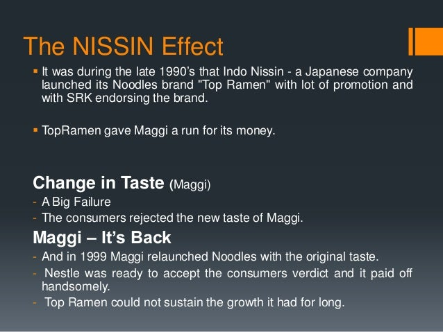 brand story of maggi The hugely popular maggi noodles were found to have seven maggi is a subsidiary of nestle with sign up to receive the top stories you need to know.