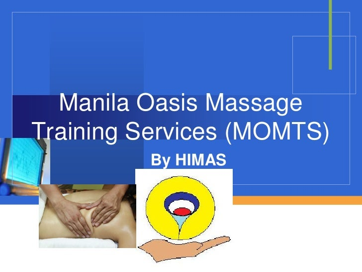 Manila Oasis Massage Training Services (MOMTS)          By HIMAS              Company            LOGO