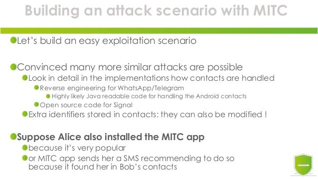 Introducing Man in the Contacts attack to trick encrypted messaging a…