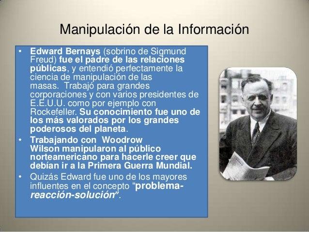 Edward Bernays manipulacion de masas