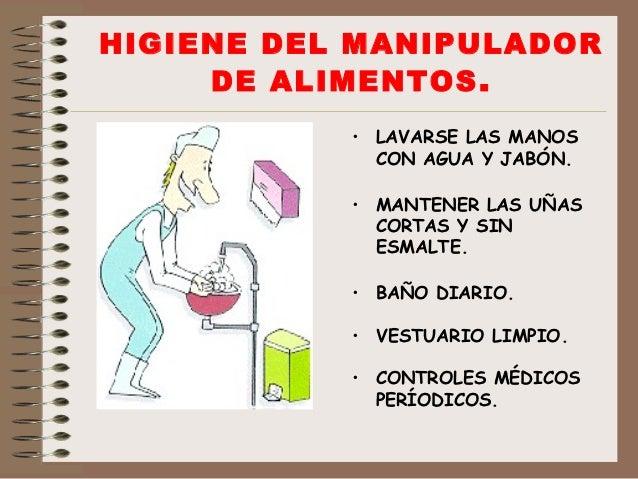 Manipulaci n de alimentos - Higiene alimentaria y manipulacion de alimentos ...
