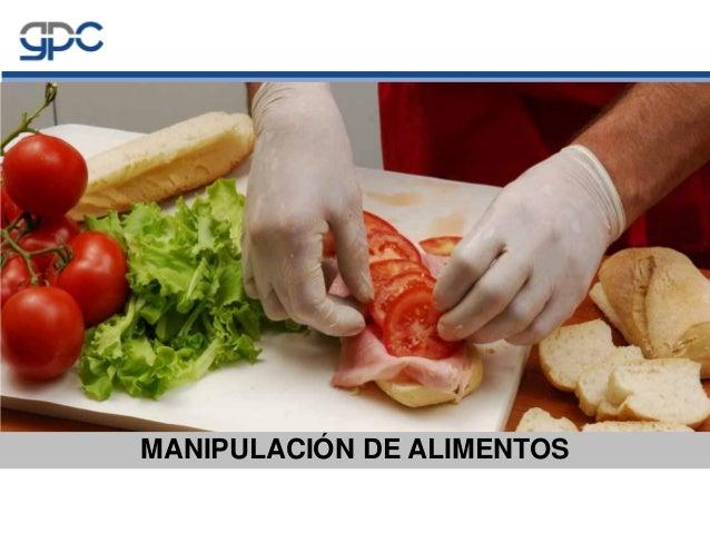manipulaci n de alimentos