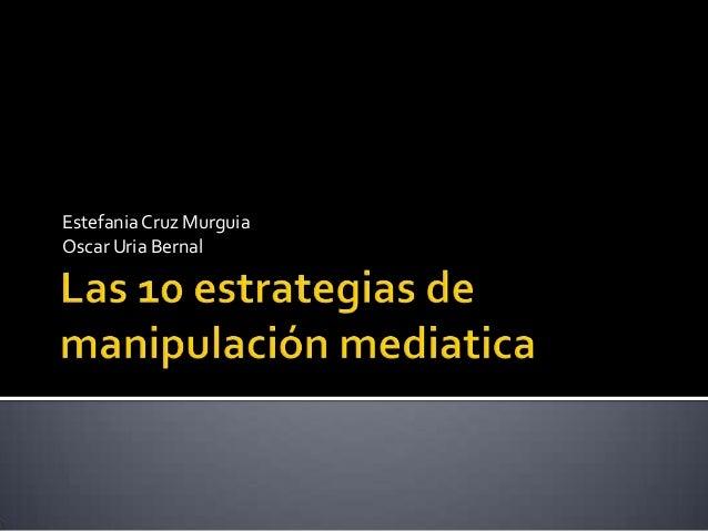 EstefaniaCruz Murguia Oscar Uria Bernal