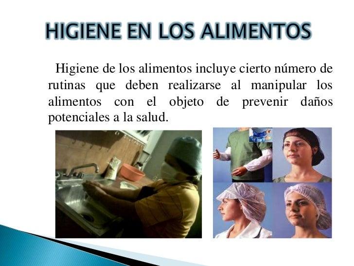 Manipulacion de alimentos e higiene for Higiene y manipulacion de alimentos pdf