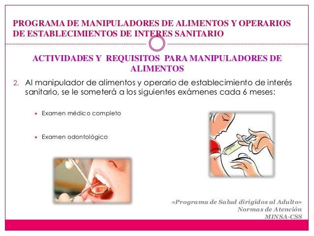 Manipuladores de alimentos - Preguntas examen manipulador de alimentos ...