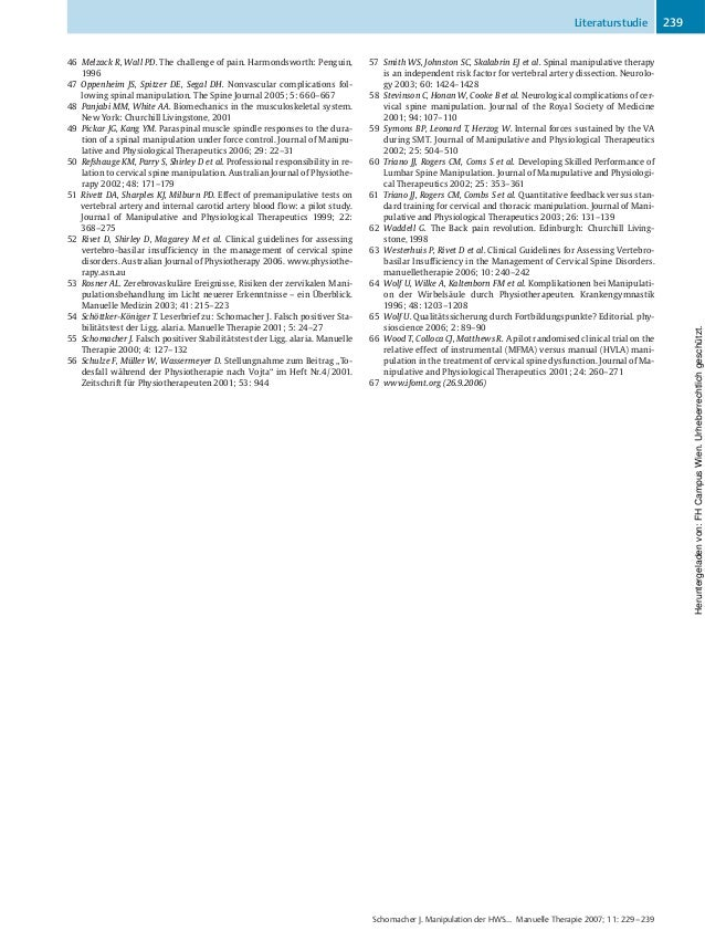 46 Melzack R, Wall PD. The challenge of pain. Harmondsworth: Penguin, 1996 47 Oppenheim JS, Spitzer DE, Segal DH. Nonvascu...