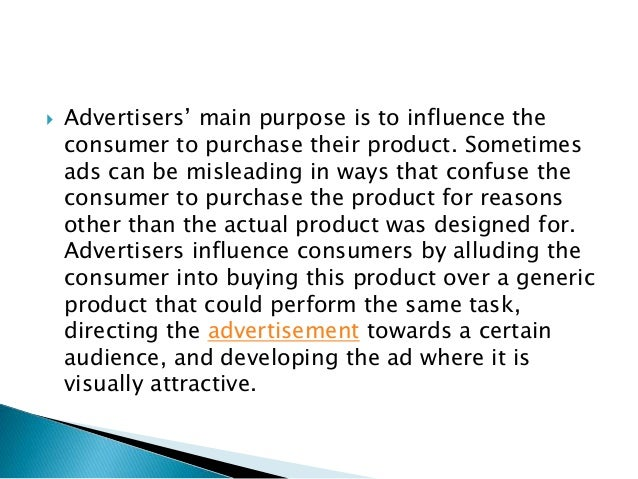 manipulation in advertising