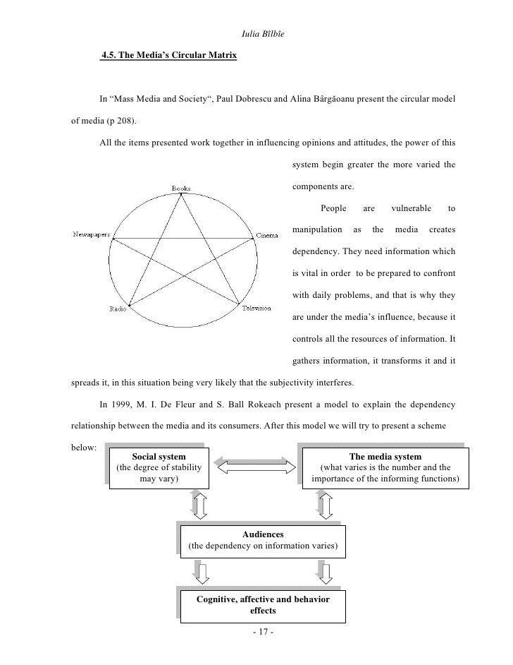 "Iulia Bîlbîe           4.5. The Media's Circular Matrix             In ""Mass Media and Society"", Paul Dobrescu and Alina B..."