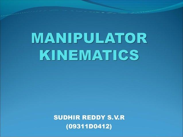SUDHIR REDDY S.V.R (09311D0412)
