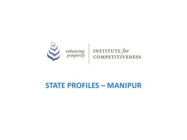 STATE PROFILES – MANIPUR