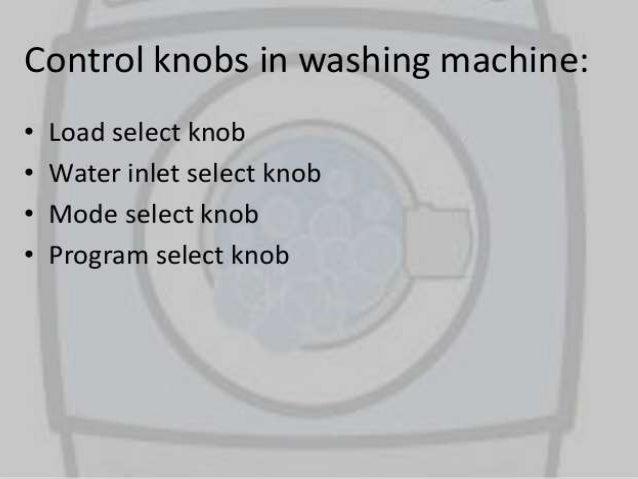 Manish1 washing machine control
