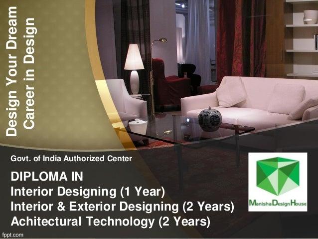 Manisha Design Diploma Interior Designing Course In Vadodara Vapi G