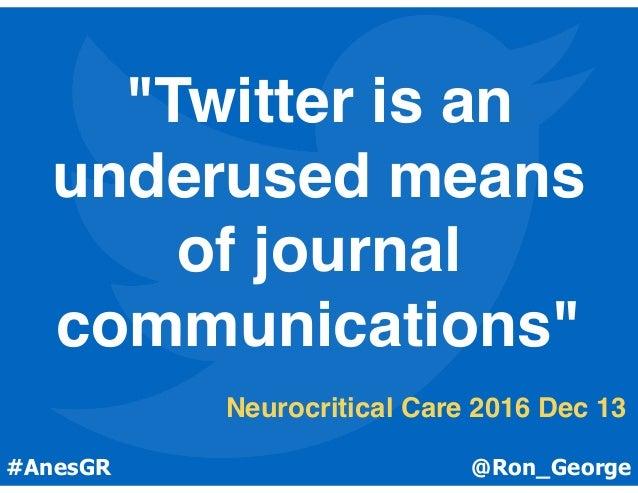 @Ron_George #OAA3dc2017@Ron_George#AnesGR Allen et al. PLoS One 2013;8(7)