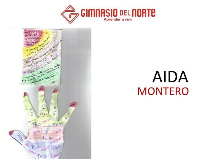 AIDA<br />MONTERO<br />