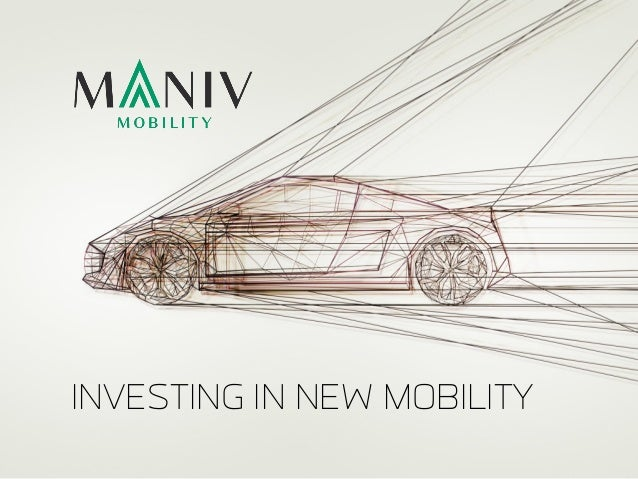 INVESTING IN NEW MOBILITY