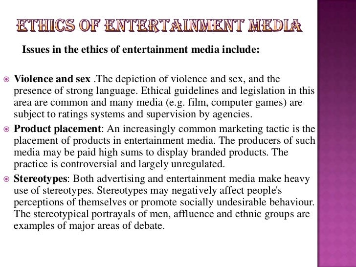 broadcast ethics Gary schwitzer is founder and publisher of healthnewsrevieworg he taught  media ethics at the university of minnesota for 9 years.
