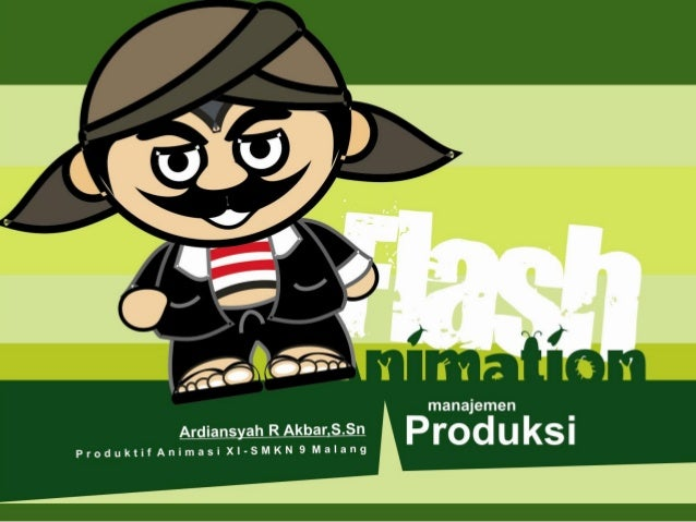Manjemen produksi flash animation