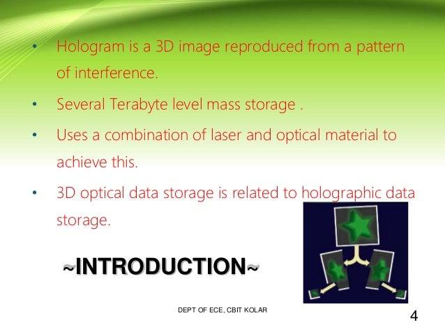 benefits of 3d optical data storage Advantages and disadvantages of 3d optical storage advantages and disadvantages of optical storage media what are the advantages and disadvantages of 3d.