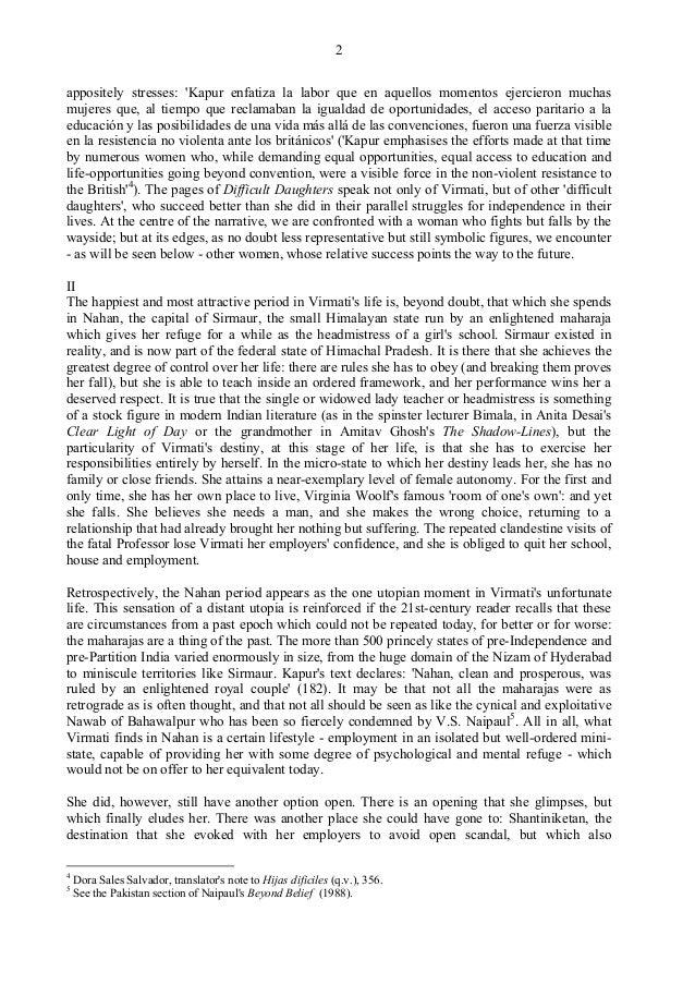 Manju Novel Review Essay - image 8