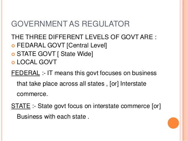 role of government in business environment Role of government and the problems faced in protecting our environment  role of government and the problems faced  the environment, government,.