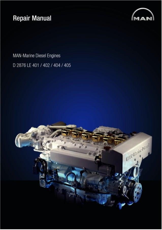 man marine diesel engine d2876 le 402 service repair manual rh slideshare net Overhauling an Inboard Engine Nissan Sentra Engines Overhauling