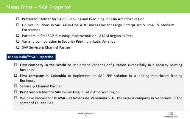 mann sap banking finance private confidential 5 mann s sap practice 6