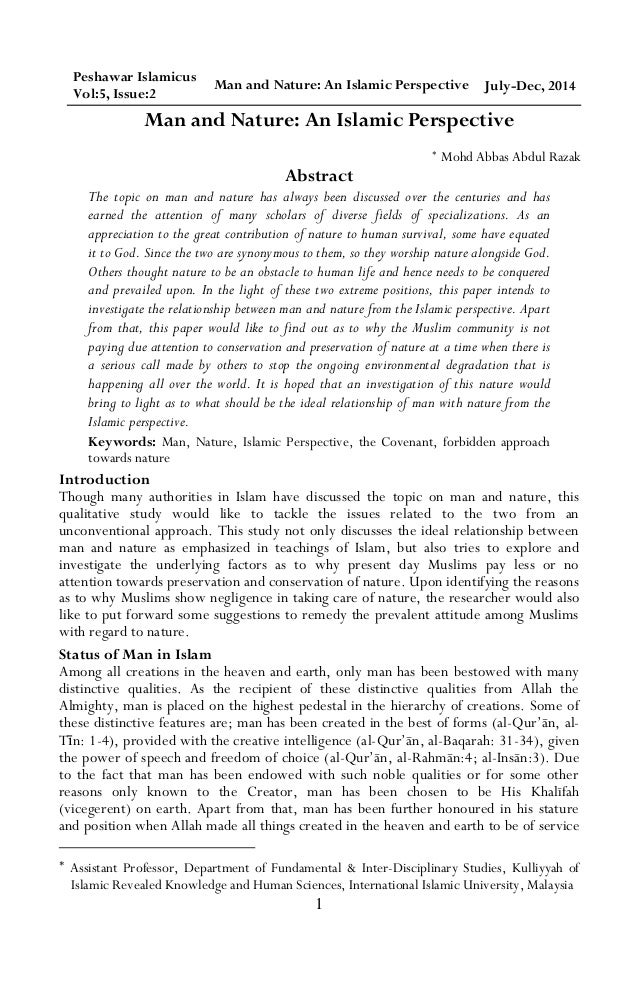 issues concerning islam essay Free college essay sacred scripture and cosmogony of islam and christianity nearly every religion and culture around the world has transcribed sacred scriptures or depictions of how the universe and.