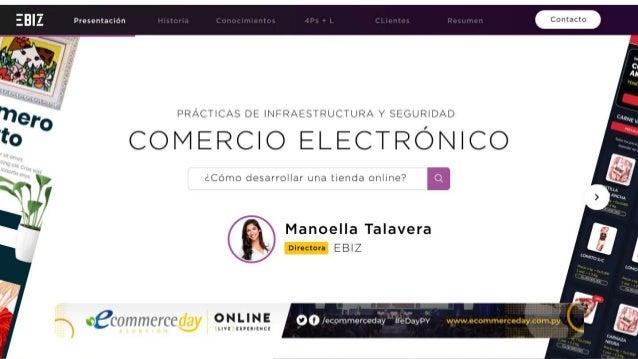Manoella Talavera - eCommerce Day Asunción Online [Live] Experience