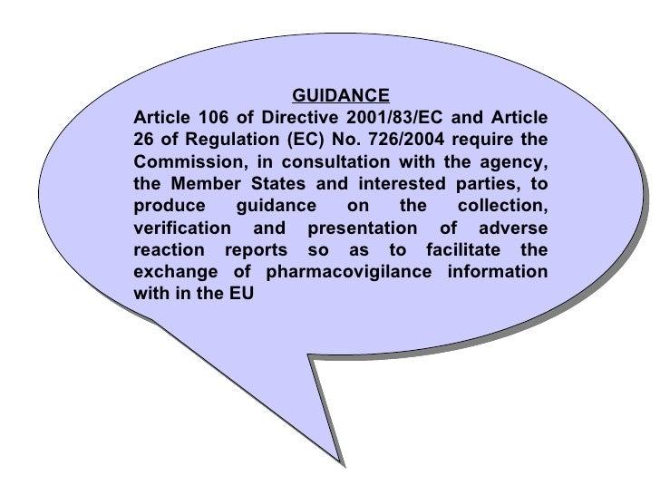 article 3 3 involving directive 2001 83 ec
