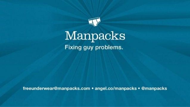 Manpacks Pitch Deck