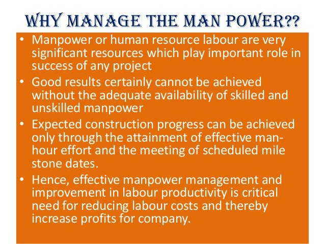 man power management Client: navy manpower analysis center (navmac), millington, tn project statement the total force manpower management system (tfmms) is a classified mainframe manpower system that contains.