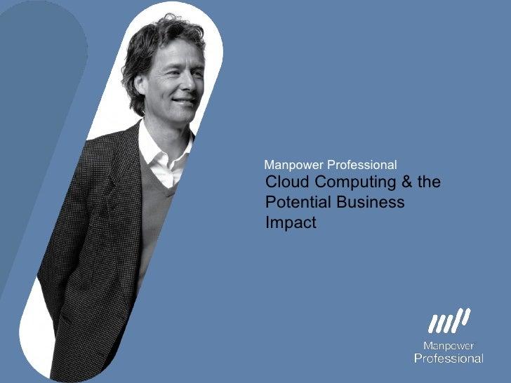 Manpower Professional Cloud Computing Introduction