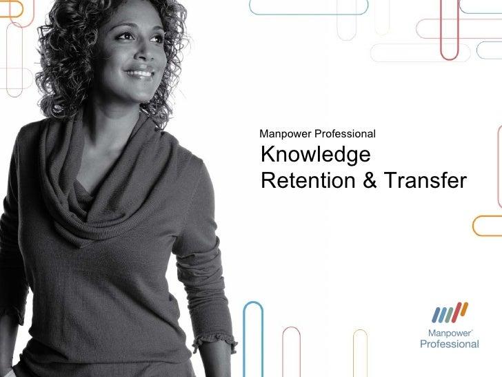 Manpower Professional Knowledge Retention & Transfer